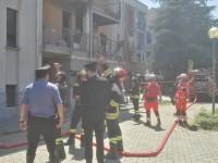Incendio di un alloggio a Pinerolo
