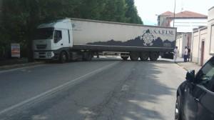Camion blocca stradale Fenestrelle