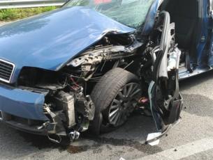 Incidente stradale a Porte fra le due gallerie