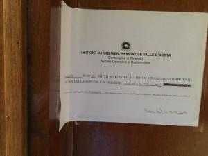 Un giovane trovato morto,  i carabinieri hanno messo i sigilli in un alloggio di Pinerolo