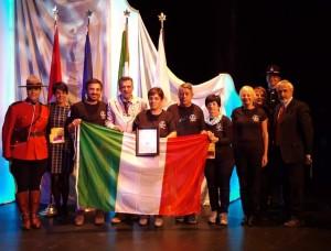 Pomaretto menzione d'onore  al concorso internazionale che premia i Comuni fioriti
