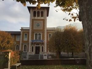Museo Storico Valdese - Edificio con torretta frontale