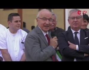 VIDEO | Pomaretto, inaugurato il nuovo reparto dell'ex ospedale Valdese