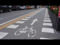 VIDEO | Le prime reazioni al progetto delle piste ciclabili