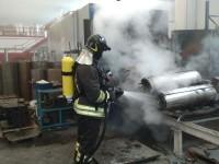 Cumiana: principio d'incendio nella fabbrica di trasformatori El.Pi.Cast. Resin