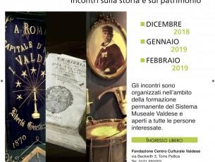 """A Torre Pellice si parla di storia e patrimonio con gli incontri """"Il nuovo Museo valdese si racconta"""""""