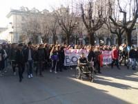 FOTO | Corteo di studenti contro i tagli all'istruzione