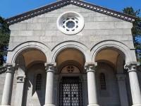 Villar Perosa apertura della Cappella della famiglia Agnelli