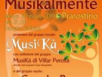 In concerto per la scuola di Prarostino