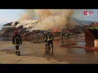 VIDEO | Il sospetto di un sabotaggio per il rogo all'ex Annovati, oggi Kastamonu
