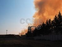 Incendio ex Annovati: i sindaci incontrano l'Arpa