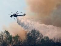 FOTO | Le operazioni di spegnimento dell'incendio all'Annovati/Kastamonu di Frossasco