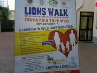 VIDEO | Pinerolo, presentazione della Lions Walk