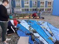 Pinerolo, devastato il giardino realizzato dagli studenti dell'istituto Porro