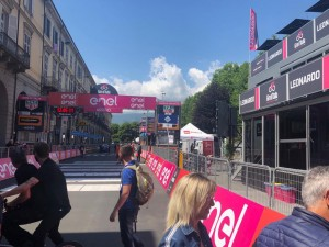 Pinerolo è pronta per l'arrivo dei Giro d'Italia