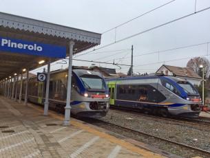 La stazione di Pinerolo