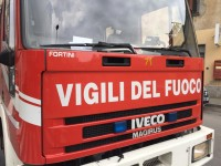 Villar Perosa, strada bloccata a causa di un'autocisterna che perde gas