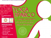 Yoga nel parco all' Hotel Barrage di Pinerolo