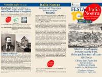 Festa 10 anni di Italia Nostra: mostre, conferenze, presentazioni libri
