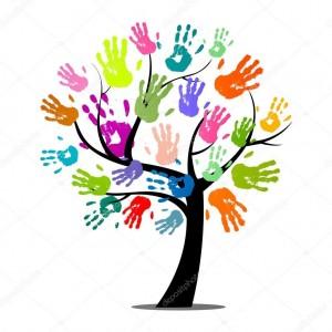 mani e alberi