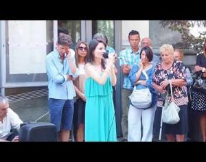 VIDEO | La commemorazione a Pinerolo delle vittime del ponte Morandi