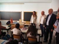"A Cumiana l'assessore regionale  all'Istruzione, Chiorino, dice:"" serve una voce di bilancio per l'emergenza scuola"""