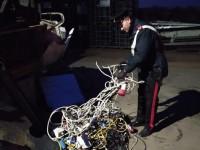 Torino: depredavano cavi di rame in tutta Italia, per poi riciclarli Carabinieri arrestano 10 persone. Sequestrata azienda compiacente