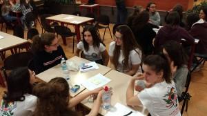 Foto gara femminile di Matematice 2019 3