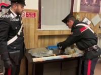Arrestato dai carabinieri il barista spacciatore, aveva oltre un chilo di hashish