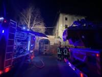 VIDEO | Ancora fiamme al merlettificio Turk