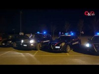 VIDEO | Cumiana, una notte a bordo di un'auto dei carabinieri per raccontare come operano nella prevenzione dei furti
