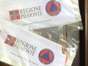 Partita la distribuzione di mascherine a Pinerolo