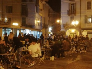 Sabato sera in piazza Facta
