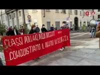 Gli studenti di Pinerolo rivendicano il diritto allo studio e scendono in piazza