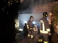 San Pietro Val Lemina, esplosione in un garage