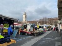 Il mercato del sabato a Pinerolo