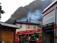 Fenestrelle, incendio di una abitazione