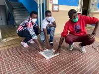 VIDEO   Una pietra d'inciampo all'Engim per non dimenticare le vittime delle migrazioni
