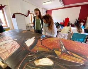 Piscina restaura il museo di arte contemporanea