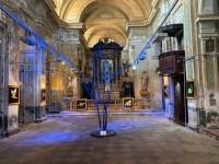 La mostra Sottopelle allestita nella chiesa di Sant'Agostino
