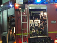 Incendiata la porta del tattoo shop di via Silvio Pellico